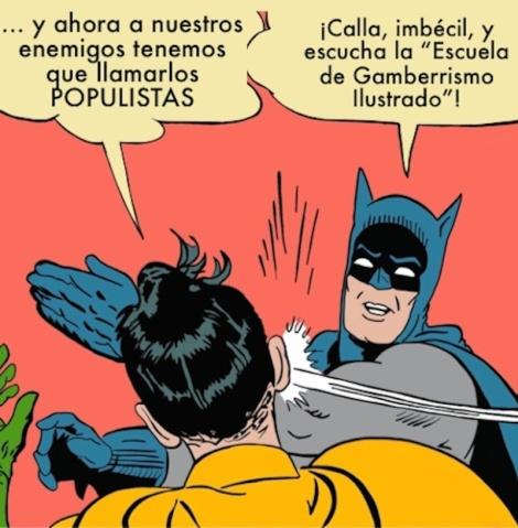 Batman Escuela Gamberrismo